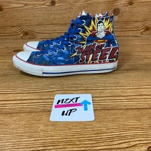 Superman Man of Steel Chuck Taylor All Star Cons